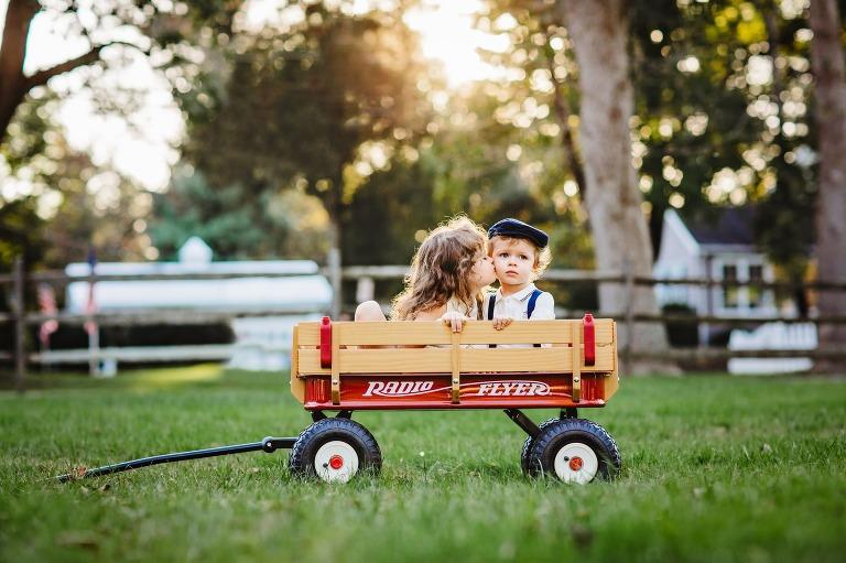 bucks county photographer shoots family session at Washington Crossing